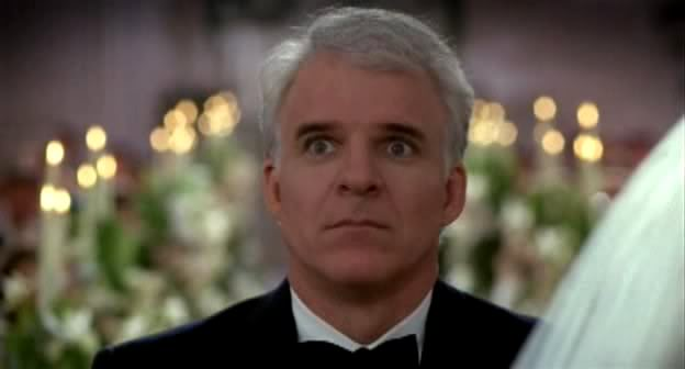Steve Martin as the Dad in the Movie Father of the Bride